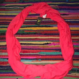 Old Navy Coral Active Lightweight scarf